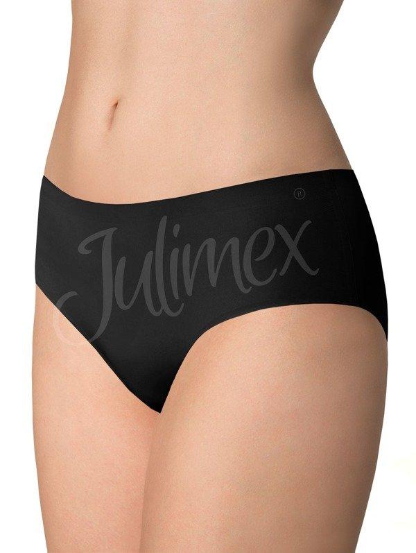 Majtki szorty bezszwowe Simple Julimex czarne